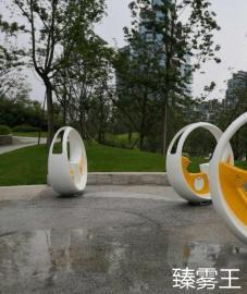 景区自行车互动喷泉--脚踏喷泉自动发电