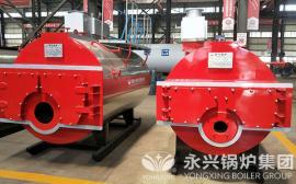 天然气蒸汽锅炉 WNS型天然气锅炉