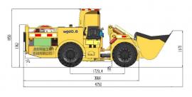 WJD-0.6电动铲运机