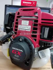 HONDA本田GX35�l��C四�_程汽油割草�C割灌�C�^ 原�b�M口