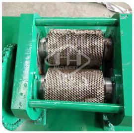 对辊挤压造粒机提高辊子使用寿命降低磨损 有机肥造粒机