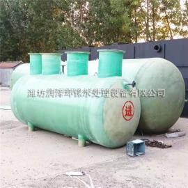 成品玻璃钢化粪池 一体化污水处理设备清水环保 玻璃钢隔油池