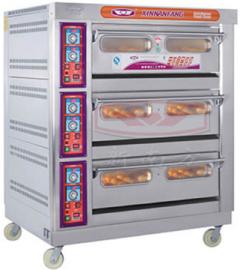 新南方三层九盘商用大型电烤箱,面包蛋糕肉类烤箱