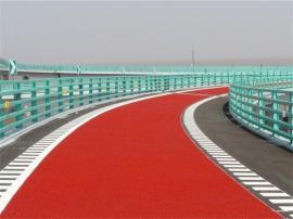水泥�r青彩色防滑路面