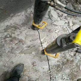 �V山石材�_采大型分裂�C�r石劈裂�C 液�号�裂棒