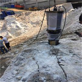 挖地基破硬石头机器开石机制造商