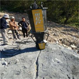 道路修建开挖石头代替炮锤劈石机器岩石劈裂机 液压劈裂棒