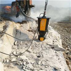 涵洞掘进遇到岩石太硬劈裂机岩石劈裂机 液压劈裂棒