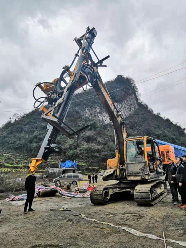 水库修建开裂岩石劈裂棒参数