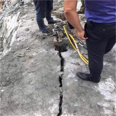 工程挖到硬石头破碎机器岩石劈裂机