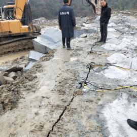 采石场开采岩石开凿器岩石劈裂机 液压劈裂棒