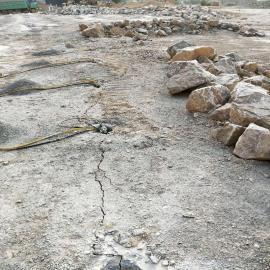 石材二次解�w用破石器�r石分裂棒�r石劈裂�C 液�号�裂棒