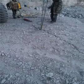 土石方破石头劈裂机岩石劈裂机 液压劈裂棒