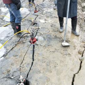 高速公路修建�o�B分裂棒�r石劈裂�C 液�号�裂棒