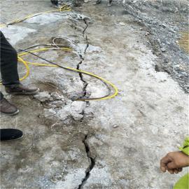 采石场开采大块石头劈石机岩石劈裂机 液压劈裂棒