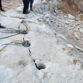 矿山开采能代替放炮快速破石头的机器岩石劈裂机 液压劈裂棒