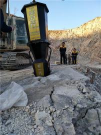 城市建设石材开荒采石劈裂器岩石劈裂机 液压劈裂棒