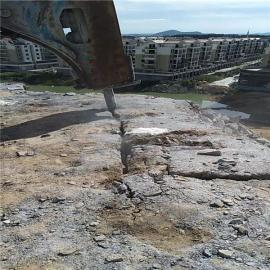 河道�U建挖掘石灰石硬石�^分裂劈裂�C�r石劈裂�C 液�号�裂棒