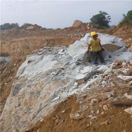 地�F隧道挖掘型液�号�裂棒�r石劈裂�C 液�号�裂棒