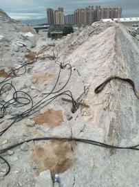 矿山开采不能放炮破石头机器岩石劈裂机 液压劈裂棒