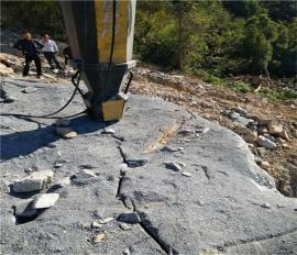 岩石太硬开采慢用劈裂机免费体验
