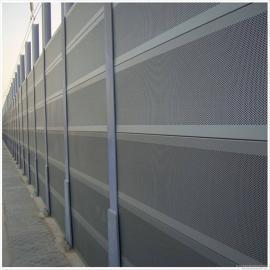 公路金属声屏障 道路隔音屏障 安装桥上隔音墙