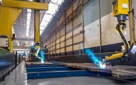 大型结构件焊接机器人