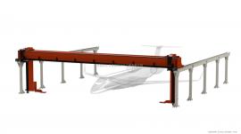 重型桁架机械手,承载10KG-5吨