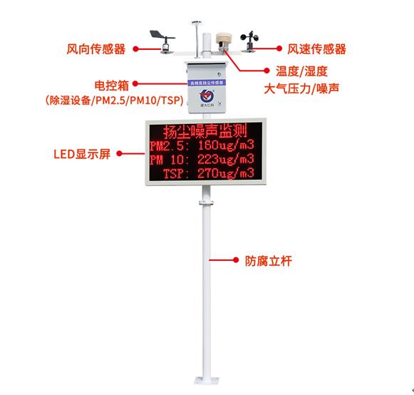 CCEP CPA CMA泵吸式扬尘监测系统