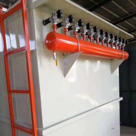 DMC-48袋脉冲单机除尘器分两种清灰方式