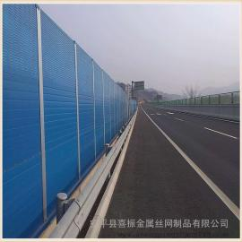 金属声屏障安装 订制金属隔音墙 交通噪声治理