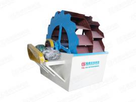 可移动轮式洗砂机 可移动轮斗式洗沙机