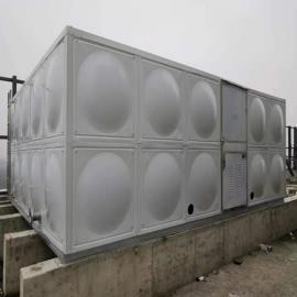 装配式304不锈钢焊接水箱 方形消防水箱