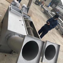 高排水螺旋压榨机安装