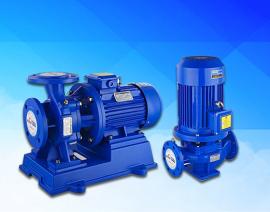 ISG立式管道泵单级离心泵管道冷热水循环泵反洗管道泵管道增压泵