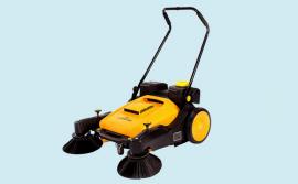 小区路面用结力手推式无动力扫地机 可用于水泥地面的扫地机