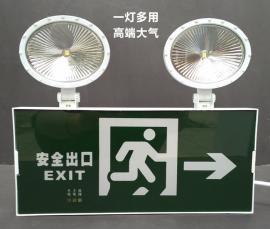 二合一应急灯 多功能一体消防应急灯 一灯两用复合一体应急灯