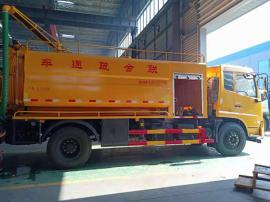 多功能订制高压清洗吸污车 能拉15吨污泥污水的高压清洗吸污车