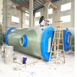 一体化预制泵站 雨水提升预制泵站 污水提升泵站成品发货