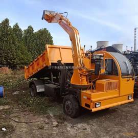 拖拉机随车挖 四不像挖斗车厢一体机吨位可定做工程车农用拖拉机