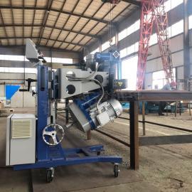 双面可翻转打坡口机械质量好 平板钢结构铣边机 冷切削操作方便