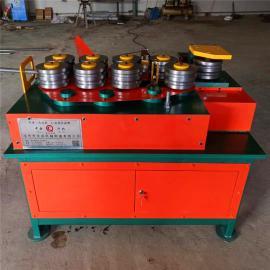 温室大棚安装 专用九轮数控弯弧机 方管弯管机 庆成定做