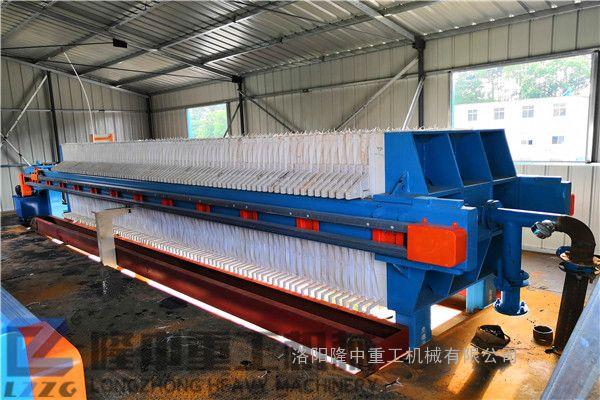 板框压滤机处理量 洗沙污泥压滤机排泥