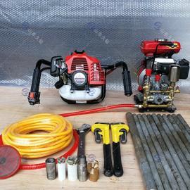 背包式岩芯钻机SCZ-1单人手持式地质勘探钻机小型工程钻探设备