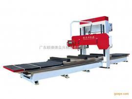 德众兴数控泡沫锯切机MJR1200 豪华型龙门锯卧式木工锯床
