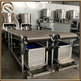仿手工豆腐皮�C�r�a100斤 自�忧���C的操作方法