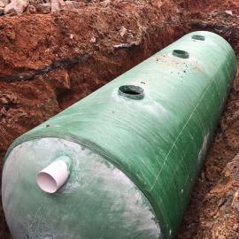 绿明辉旱厕改造新农村12立方一体成型化粪池厂家供应