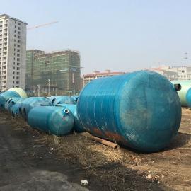 绿明辉农村厕改新农村40立方一体成型化粪池厂家供应