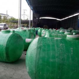 绿明辉污水处理住宅区4立方一体成型化粪池厂家供应