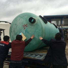 绿明辉农村厕改缠绕式30立方一体成型化粪池厂家供应